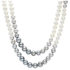 Picture of Honora Grey and White Ombre Pearl Necklace