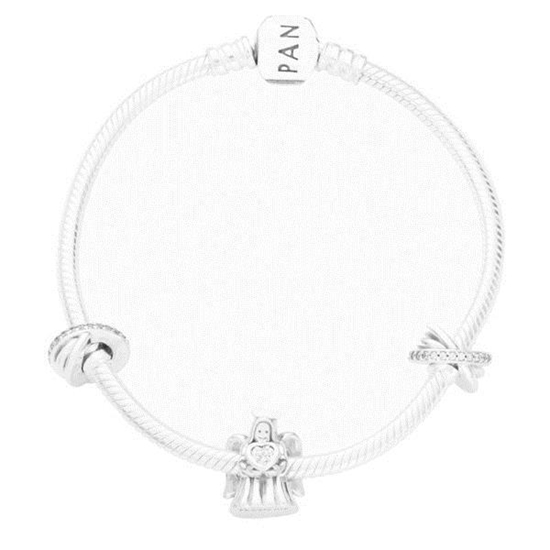 Picture of Pandora® Forever Angel of Love Bracelet- Size 7.1