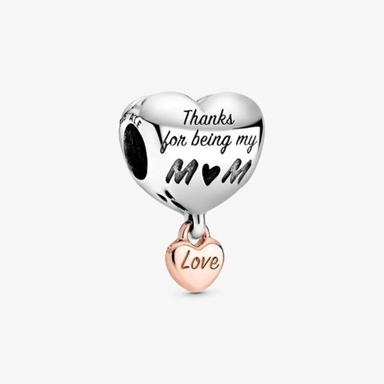 Picture of Pandora® Love You Mom Heart Charm