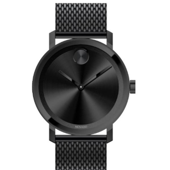 Picture of Movado® Men's BOLD Evolution Gunmetal Ion-Plated Mesh Watch