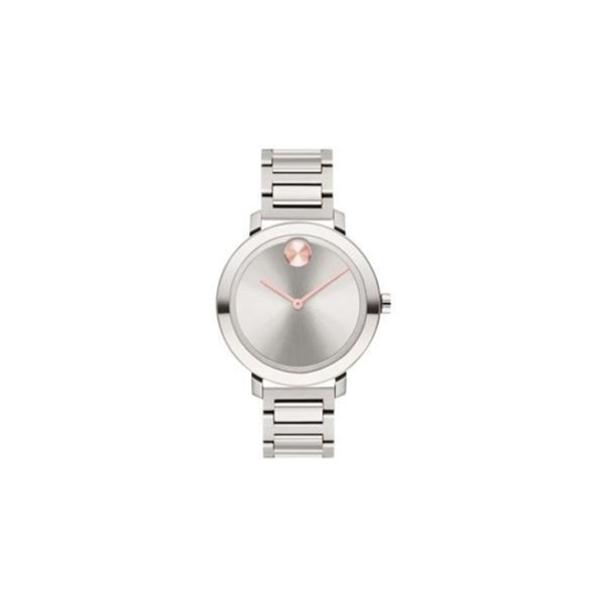 Picture of Movado® Women's BOLD Evolution with Silver-Tone Dial Watch