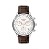 Picture of Movado® Men's Heritage Circa Chronograph Brown Leather Strap Watch
