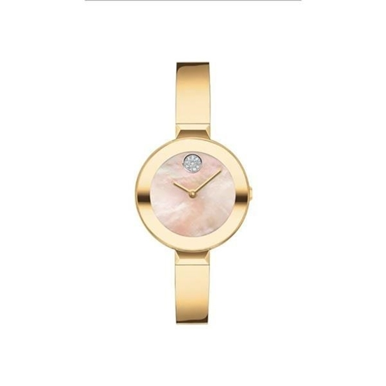 Picture of Movado® Women's BOLD Bangle Yellow Gold-Tone Watch