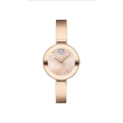 Picture of Motorola® Women's BOLD Bangle Pale Rose Gold-Tone Watch