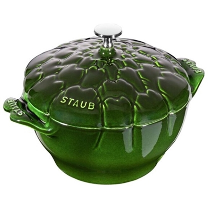 Picture of Staub 3-Qt. Artichoke Cocotte - Basil