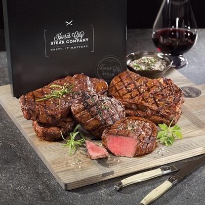 Picture of Kansas City Steaks Classic Steak Gift Box Combo