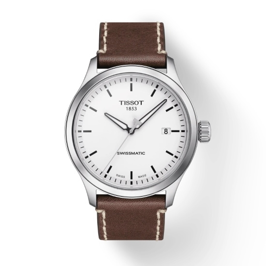 Picture of Tissot Gent XL Swissmatic with Brown Leather Strap