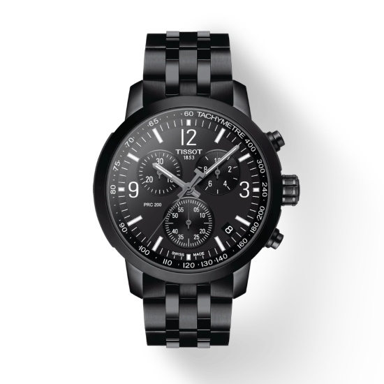 Picture of Tissot PRC 200 Chrono - Black Stainless Steel
