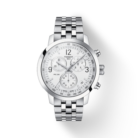 Picture of Tissot PRC 200 Chrono with Stainless Steel Bracelet