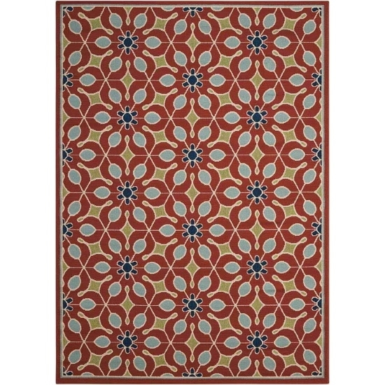 Picture of Nourison Caribbean Rust Rug - 5'3'' x 7'5''