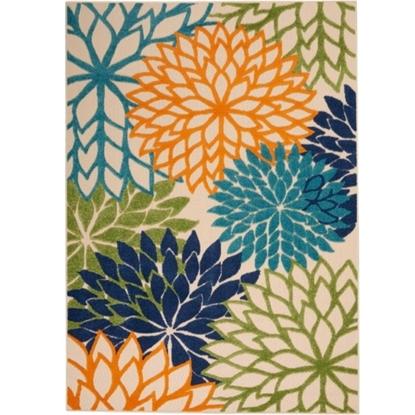 Picture of Nourison Aloha Multicolor Rug - 5'3'' x 7'5''