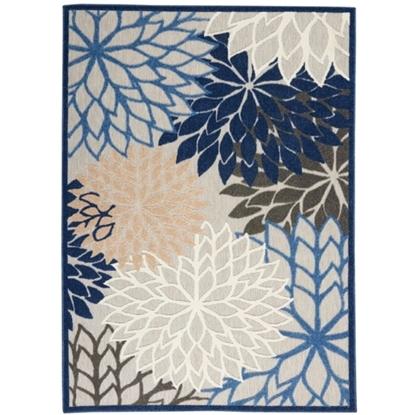 Picture of Nourison Aloha Blue/Multicolor Rug - 3'6'' x 5'6''