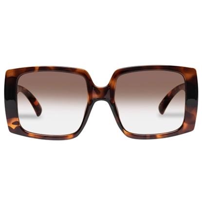 Picture of LeSpecs Glo Getter - Tortoise Frame/Warm Smoke Lens