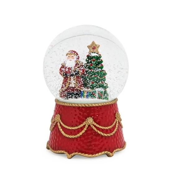 Picture of Juliska Berry & Thread Santa Musical Snow Globe