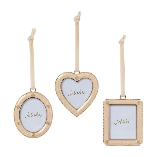 Picture of Juliska Berry & Thread Champagne Ornaments - Set of 3