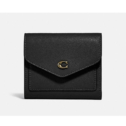 Picture of Coach Wyn Small Wallet - Light Gold/Black