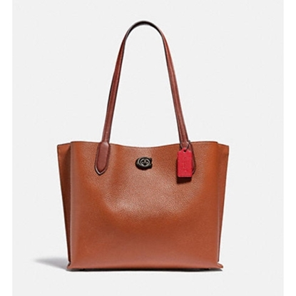 Picture of Coach Willow Tote - 1941 Saddle Multi