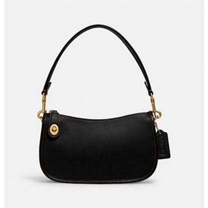 Picture of Coach Swinger Bag - Brass/Black