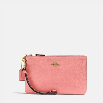 Picture of Coach Small Wristlet - Candy Pink