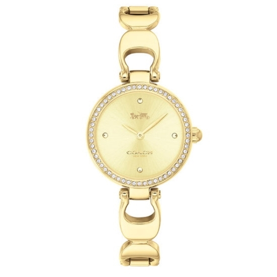 Picture of Coach Women's Park Signature Bangle Watch - Gold