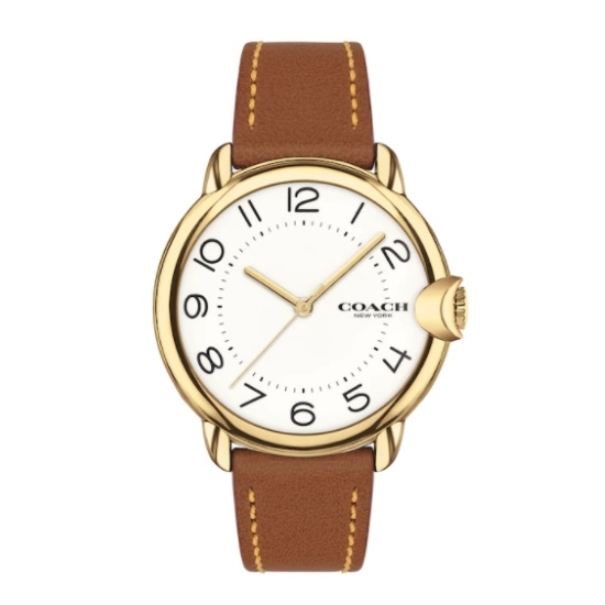 Picture of Coach Women's Arden Watch with Brown Strap