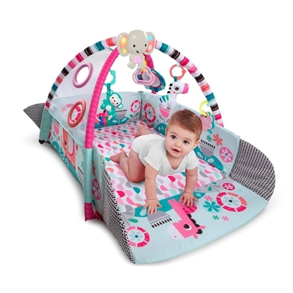 Picture of Kids2 BrightStarts 5-in-1 Your Way Ball Play Pink Gym