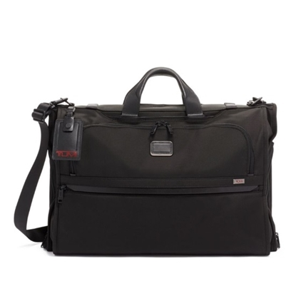 Picture of Tumi Alpha 3 Garment Bag Tri-Fold Carry-On - Black