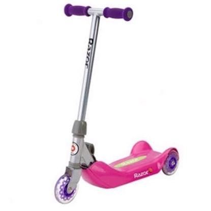 Picture of Razor® Jr. Folding Kiddie Kick Scooter -Pink
