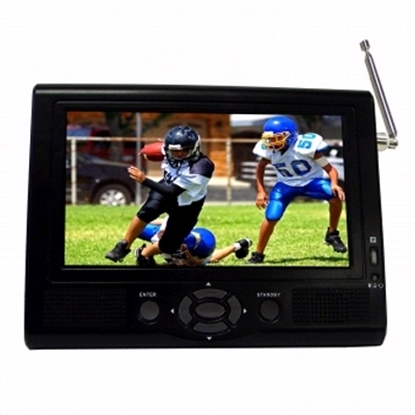 """Picture of SuperSonic® 7"""" Portable LCD TV"""