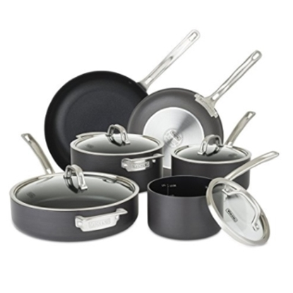 Picture of Viking Hard Anodized Nonstick 10-Piece Cookware Set