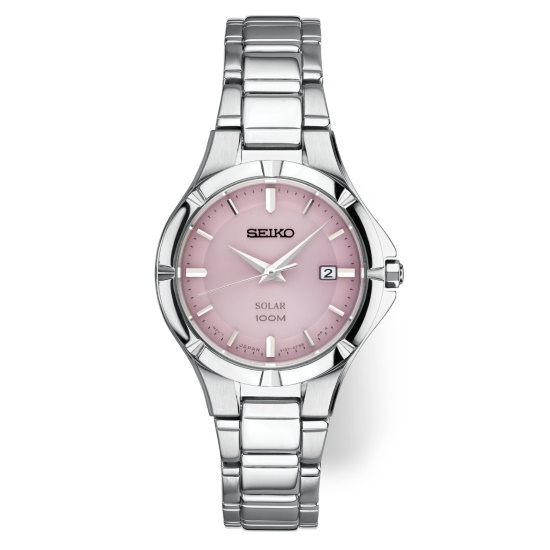 Picture of Seiko Ladies' Essentials Stainless Steel Watch with Pink Dial
