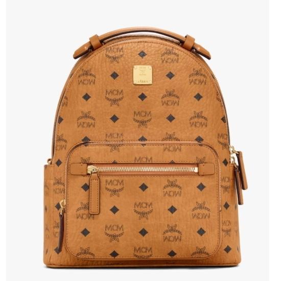 Picture of MCM Stark 32 Backpack - Cognac Visetos
