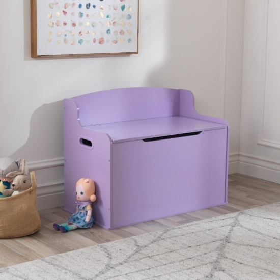 Picture of KidKraft Fill with Fun Toy Box - Lavender