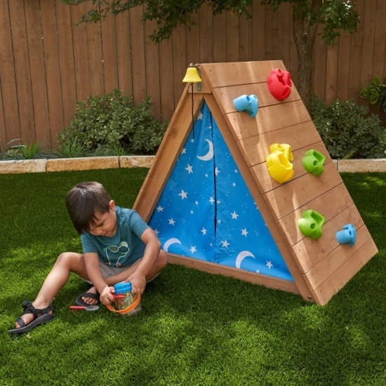 Picture of KidKraft A Frame Hideaway and Climber