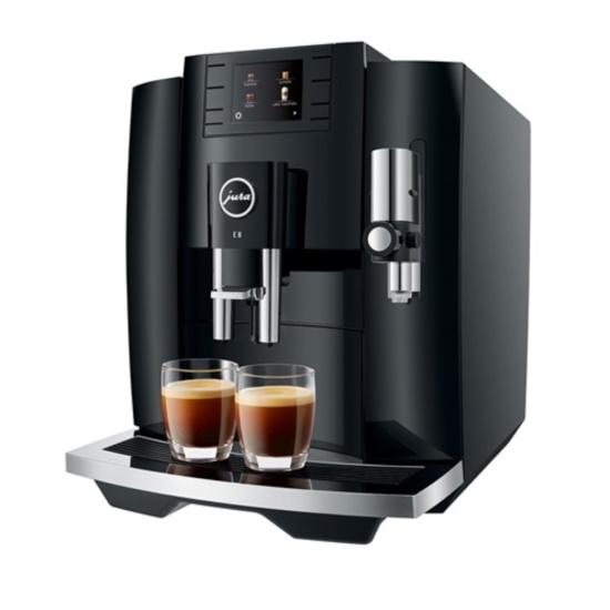 Picture of Jura E8 Automatic Espresso Machine - Piano Black