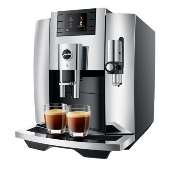 Picture of Jura E8 Automatic Espresso Machine - Chrome