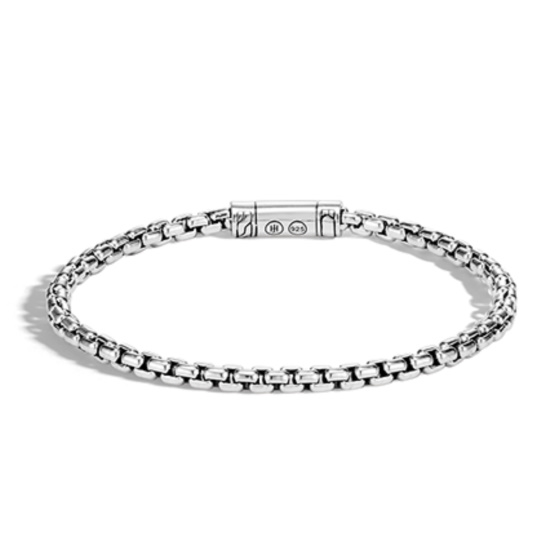 Picture of John Hardy Men's Classic Chain Silver Box Chain Bracelet - Med
