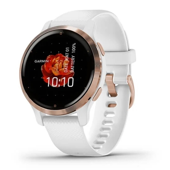 Picture of Garmin Venu 2S Fitness Smartwatch - Rose Gold/White