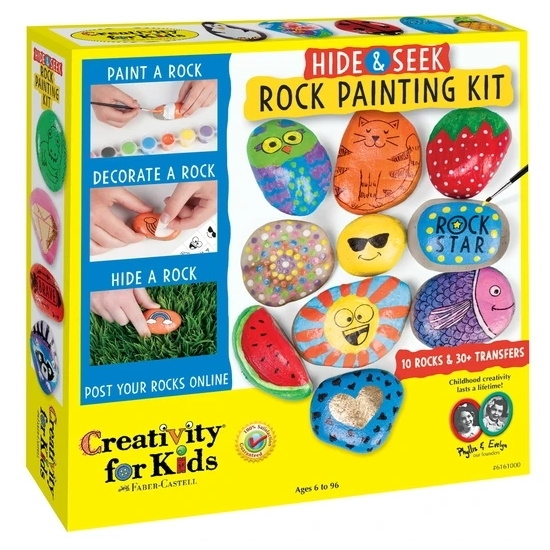 Picture of Creativity for Kids Hide & Seek Rock Painting Kit