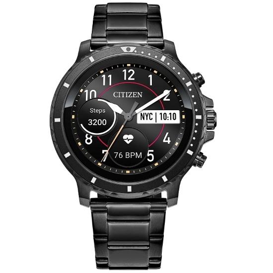 Picture of Citizen CZ Smart Black Steel Smartwatch