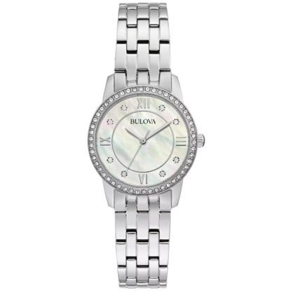 Picture of Bulova Ladies' Crystal Watch & Necklace Set