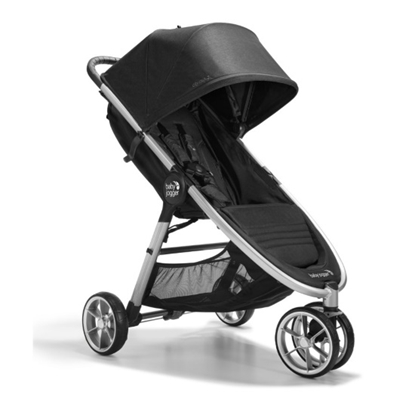 Picture of Baby Jogger Three-Wheel City Mini 2 Stroller - Opulent Black
