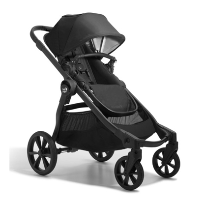 Picture of Baby Jogger City Select 2 Stroller with Tencel - Lunar Black