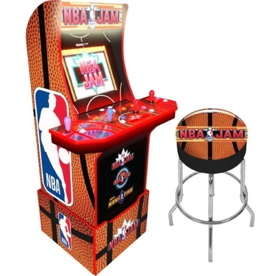 Picture of Arcade1Up NBA Jam with Stool, Riser & Marquee