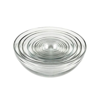 Picture of Anchor Hocking 10-Piece Glass Mixing Bowl Set