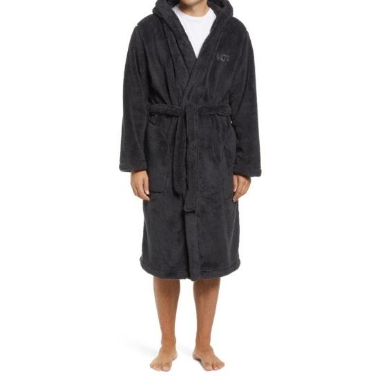 Picture of UGG Men's Beckett Robe - Ink Black