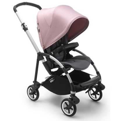 Picture of Bugaboo Bee6 Complete - Aluminum/Grey/Soft Pink