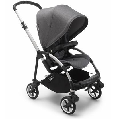 Picture of Bugaboo Bee6 City Stroller - Aluminum/Grey/Grey Melange