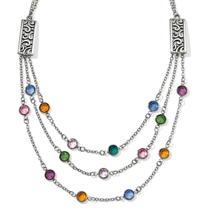 Picture of Brighton Elora Gems Multi-Layer Necklace