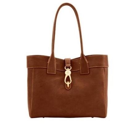 Picture of Dooney & Bourke™ Florentine Classic Large Amelie Shoulder Bag - Chestnut